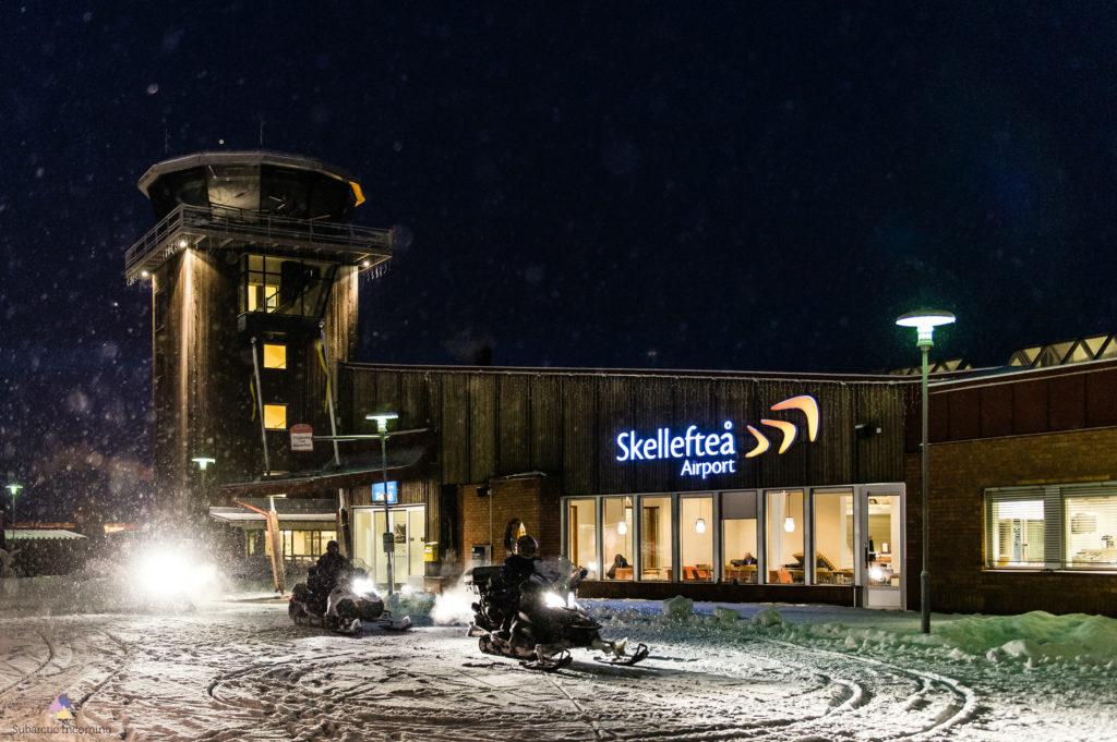 Winter Airport transfer from Skellefteå Airport