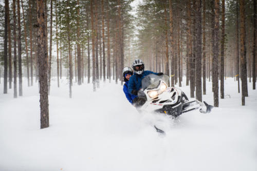 Svansele Wilderness Centre - Snowmobile